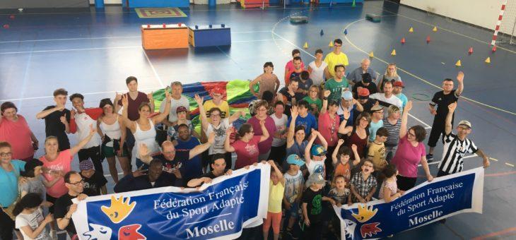 Une belle Journée Nationale «Activités Motrices» au campus Bridou à Metz