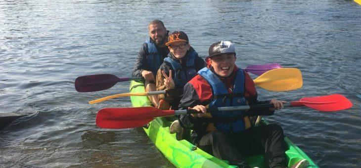 Journée de découverte des sports d'eau