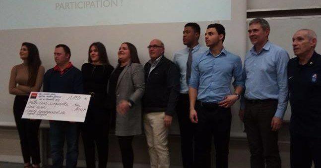 Les étudiants de l'IUT de Thionville/Yutz réalisent un très beau projet pour le CDSA57