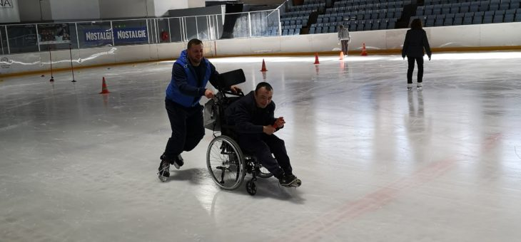 ça glisse à la patinoire Ice Arena