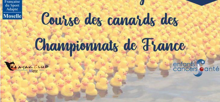 Championnat de France de canoë-kayak. Adoptez un canard !