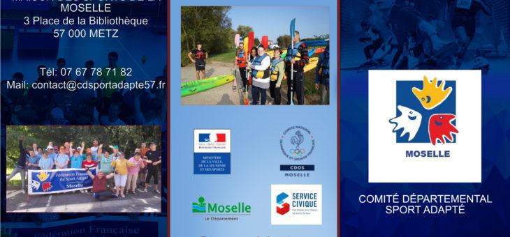 Présentation du Comité Départemental Sport Adapté de la Moselle