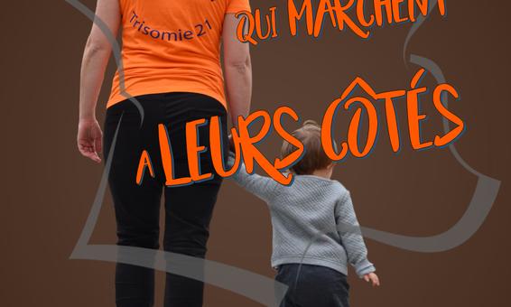 «Marche des 21» le 27 octobre à Metz organisée par l'Association Trisomie 21 Moselle.