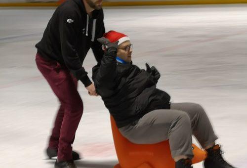 Après-midi à la patinoire ICE ARENA de Metz