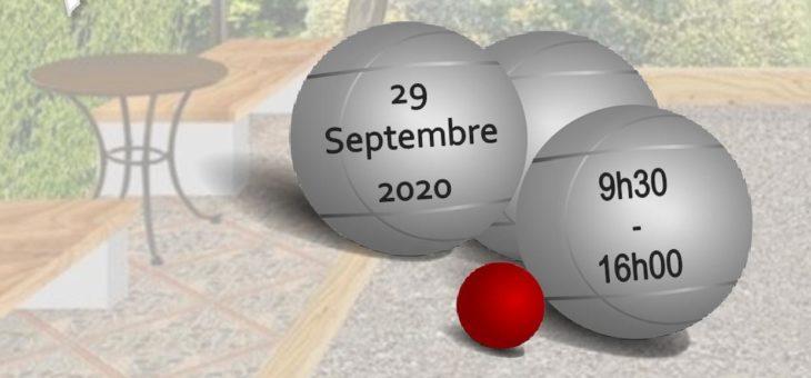 Perdez la boule avec le CDSA57 à Guénange le 29 septembre