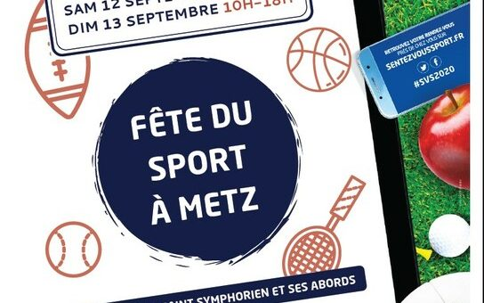 Fête du Sport les 12 et 13 septembre à Metz