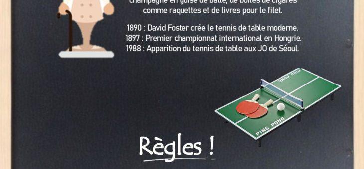 Défi Bricole ton Sport: le Tennis de Table