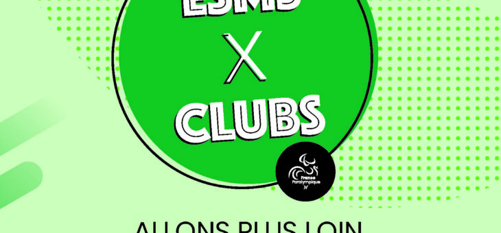 Signature d'une convention ESMS X CLUBS