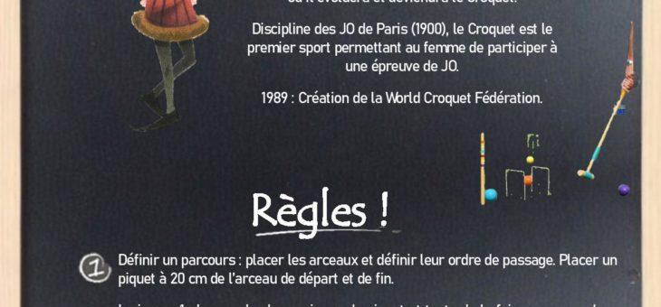 Défi Bricole ton Sport : le Croquet