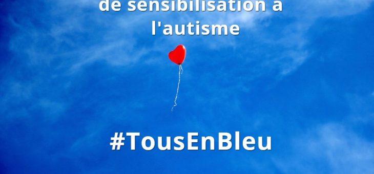 2 avril, Journée Mondiale de sensibilisation à l'autisme