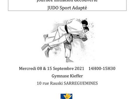 Journée initiation découverte au Judo Sport Adapté à Sarreguemines